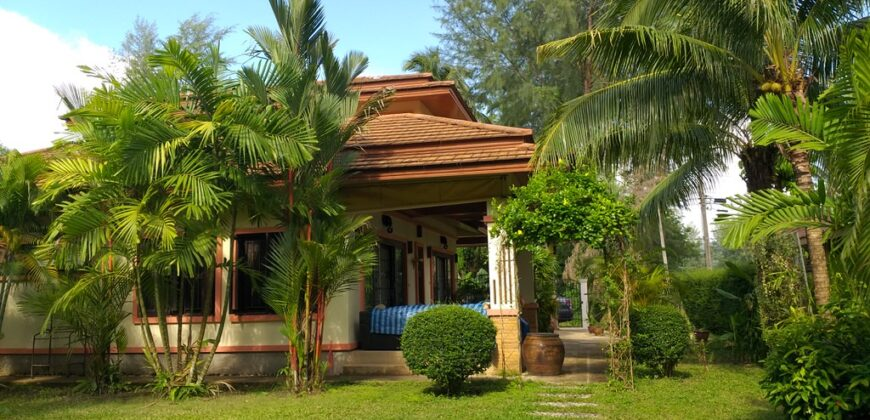 Spacious 2 storey pool villa, 3 Bedrooms, close to the beach and shops, for sale in Khao Lak