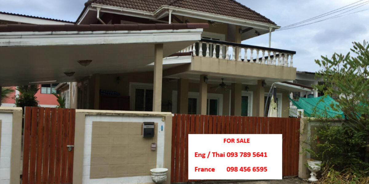 2 Storey Pool Villa, Located in a convenient area in Khaolak for Sale