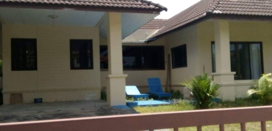 House for sale situated in a residential area of Khaolak