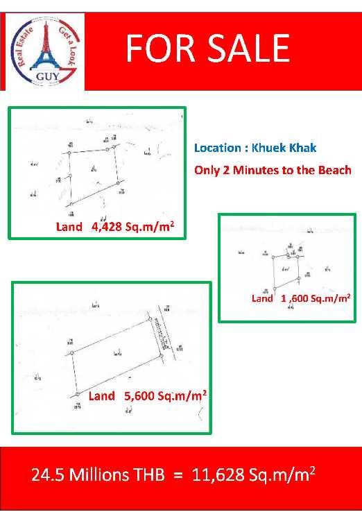 Terrain à vendre à Khao Lak