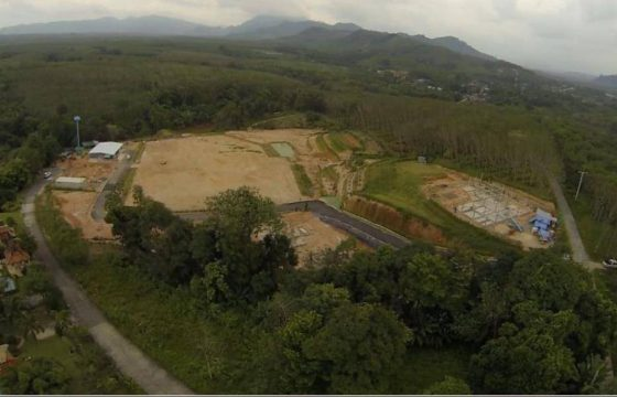 Land for sale with construction project, 20 minutes to Khao Lak