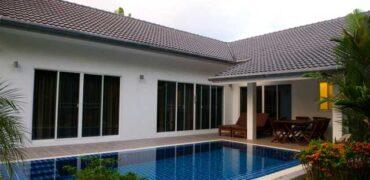 Pool villa, 3 bedrooms, for rent in Khao Lak