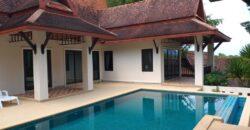 Pool villa 2 bedrooms for sale.
