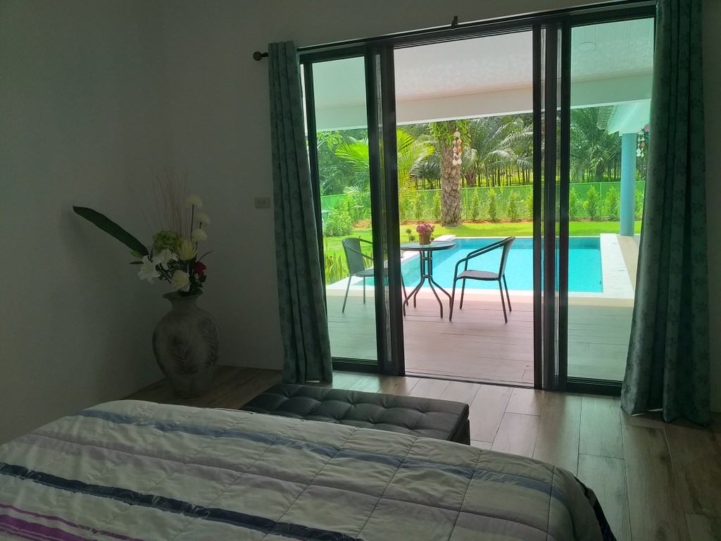 Brand new pool villa near the canal for sale in Khaolak